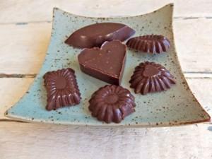 Eigengemaakte chocola, foto: roosgoesgreen