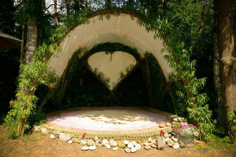 Creatief met wilgentenen roos goes green - Fotos van levende ...